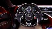 Lexus LF-LC Concept dashboard