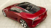 Lexus LF-LC Concept rear three quarters