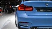 2014 BMW M3 at 2014 NAIAS exhaust