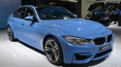2014 BMW M3 at 2014 NAIAS front three quarter