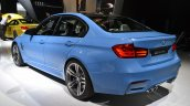 2014 BMW M3 at 2014 NAIAS rear quarter