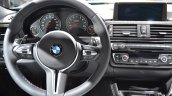 2014 BMW M3 at 2014 NAIAS steering