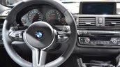 2014 BMW M3 at 2014 NAIAS steering