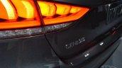 2014 Hyundai Genesis at 2014 NAIAS badge