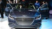 2014 Hyundai Genesis at 2014 NAIAS front doors open