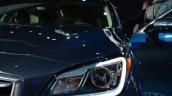 2014 Hyundai Genesis at 2014 NAIAS headlight LED