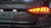 2014 Hyundai Genesis at 2014 NAIAS taillight