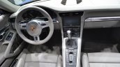 2014 Porsche 911 Targa at 2014 NAIAS cabin