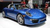 2014 Porsche 911 Targa at 2014 NAIAS front three quarter