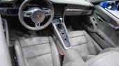 2014 Porsche 911 Targa at 2014 NAIAS interior
