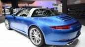 2014 Porsche 911 Targa at 2014 NAIAS rear quarter