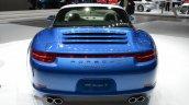 2014 Porsche 911 Targa at 2014 NAIAS rear