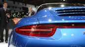 2014 Porsche 911 Targa at 2014 NAIAS taillight