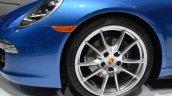 2014 Porsche 911 Targa at 2014 NAIAS wheel