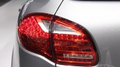 2014 Porsche Cayenne Platinum Edition taillight at NAIAS 2014