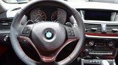 2015 BMW X1 at 2014 NAIAS steering wheel 3
