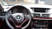 2015 BMW X1 at 2014 NAIAS steering wheel