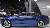 2015 Cadillac ATS Coupe side profile at NAIAS 2014