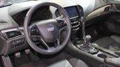 2015 Cadillac ATS Coupe steering at NAIAS 2014