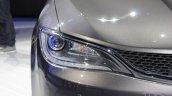 2015 Chrysler 200 headlamp at NAIAS 2014