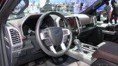 2015 Ford F-150 dash driver side at NAIAS 2014