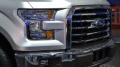 2015 Ford F-150 grille at NAIAS 2014