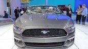 2015 Ford Mustang Convertible at 2014 NAIAS front fascia