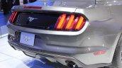 2015 Ford Mustang Convertible at 2014 NAIAS rear fascia