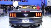 2015 Ford Mustang Convertible at 2014 NAIAS rear