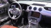 2015 Ford Mustang Convertible at 2014 NAIAS steering