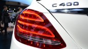 2015 Mercedes-Benz C Class at 2014 NAIAS C400 light