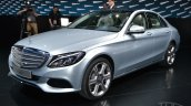 2015 Mercedes-Benz C Class at 2014 NAIAS front three quarter