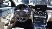 2015 Mercedes-Benz C Class at 2014 NAIAS interior