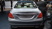2015 Mercedes-Benz C Class at 2014 NAIAS rear silver