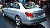 2015 Mercedes-Benz C Class at 2014 NAIAS rear three quarter