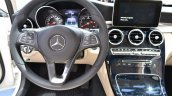 2015 Mercedes-Benz C Class at 2014 NAIAS steering