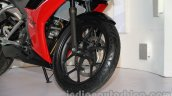 Hero HX250R front wheel detail