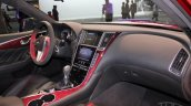 Infiniti Q50 Eau Rouge interior at NAIAS 2014