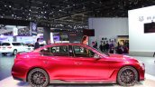 Infiniti Q50 Eau Rouge side view at NAIAS 2014
