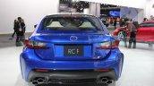 Lexus RC F at NAIAS 2014 rear view