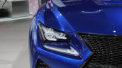 Lexus RC F headlamp at NAIAS 2014