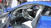 Lexus RC F interior at NAIAS 2014