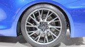 Lexus RC F wheel design at NAIAS 2014