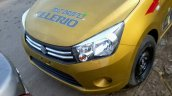Maruti Celerio demo car spyshot nose