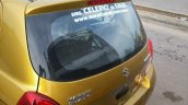 Maruti Celerio demo car spyshot rear fascia