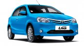 New 2014 Toyota Etios Liva studio shot