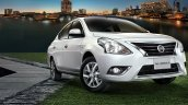 Nissan Sunny facelift press image