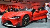 Toyota FT-1 front three quarter NAIAS 2014