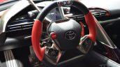 Toyota FT-1 steering at NAIAS 2014