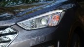 2013 Hyundai Santa Fe Review Xenon headlight